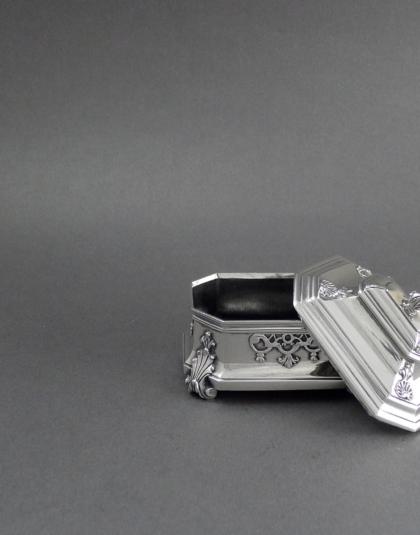 Lodewijk XIV zilveren doosje