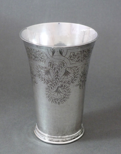 Zilveren beker Amsterdam 1641