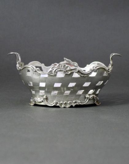 Zilveren mandje