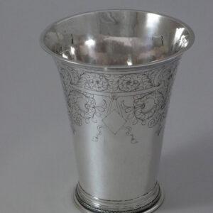 Zilveren beker
