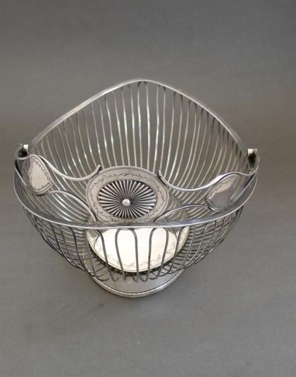 Zilveren soezenmand