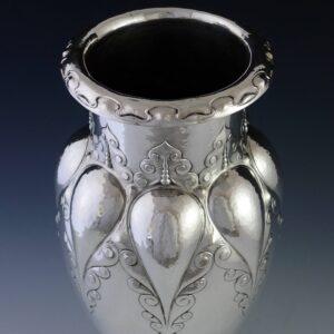 Zilveren vaas ( verkocht )