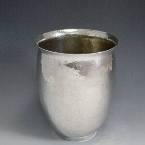 Zilveren vaas