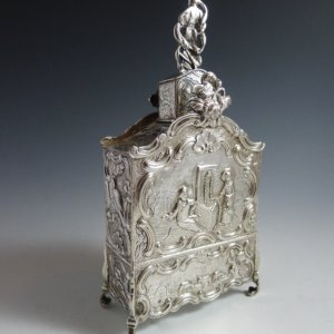 Zilveren theebus ( gereserveerd )