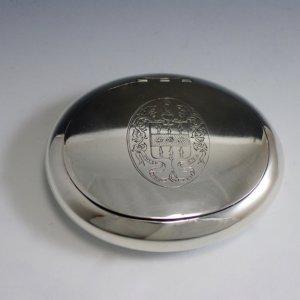 Zilveren tabaksdoos
