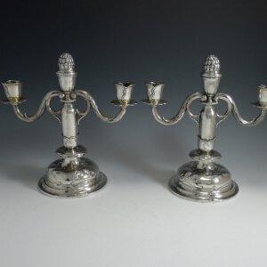 Zilveren kandelaars