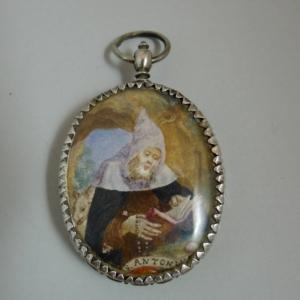 Zilveren relikwiehouder